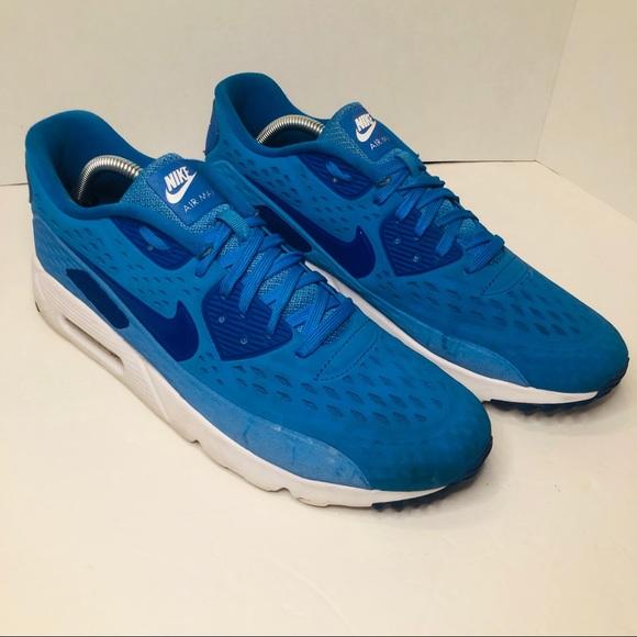 heiß Nike Shoes | Air Max 90 Ultra Breathe 725222404 Blue 11